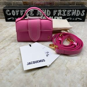 JACQUEMUS Pink 'Le Petit Bambino' Coin Pouch